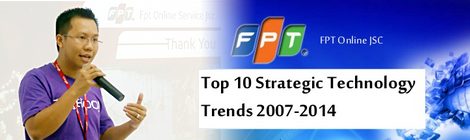 Top 10 Strategic Technology Trends 2007-2014 Gartner 470