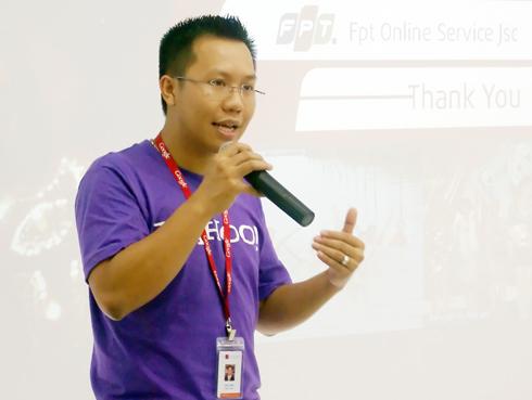 SMAC là một từ khóa marketing đối với CTO Đinh Lê Đạt. Ảnh: C.T.