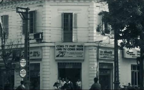 Văn phòng đầu tiên của Tập đoàn công nghệ FPT 1988