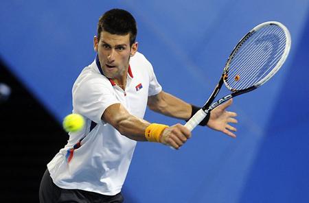 Big Data được áp dụng trong thể thao, chẳng hạn công cụ SlamTracker của IBM dành cho các giải đấu quần vợt. Ảnh: AFP.